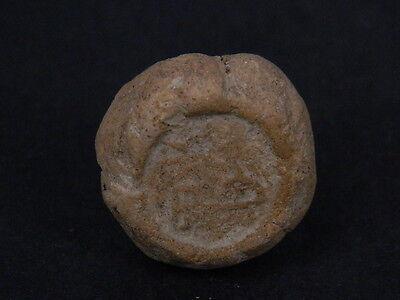 Ancient Teracotta Seal Bactrian C.300 BC No Reserve #Ik591 3