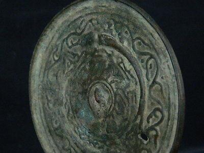 Ancient Bronze Mirror Roman 200 BC  No Reserve      #BR2002 8