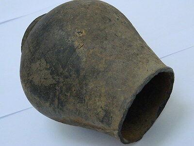 Ancient Large Size Grayware Pot Gandharan/Gandhara 100 AD    #PT15194 5
