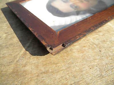 1810-30 furnierter 33,3x25,5cm BIEDERMEIER RAHMEN Furnierstärke 3mm BILDERRAHMEN 4