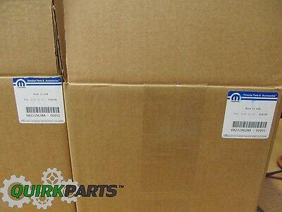 13-17 Jeep Wrangler Front Left Steel Bumper Fog Light Lamp Bezel Cover Mopar New