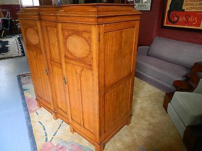 Superb Gentlemen's Satinwood Compactum/wardrobe C1910-20.the Best ! 5