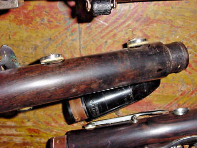 Vintage Fontaine Deluxe Clarinet Wood Grenadilla Paris France Made