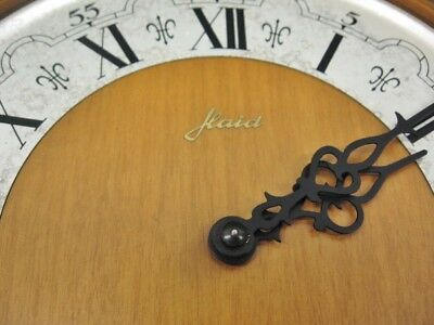 Rare Vintage Tempus Fugit HAID Wall Clock Franz Hermle Movement Made In Germany 4