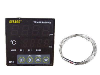 12v Sestos D1S-VR-24 Digital Pid Temperature Controller thermostat pt100 25 ssr