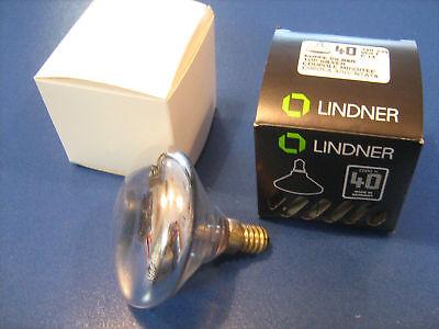 LINDNER ELDEA Kuppenverspiegelt GOLD Wagenfeld E14 40W Designer Leuchtmittel NEU