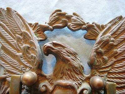 Antique Large Japan Bronze American Eagle Door Knocker 2