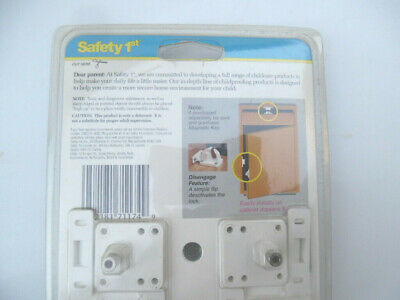 Safety 1st Magnetic Tot-Lok Four Lock Assembly - 4pc. (I have 2 sets - 8pc) 3