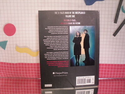 X-Files: Book of the Unexplained Vol. 1 by Jane Goldman (1997, Paperback) 2