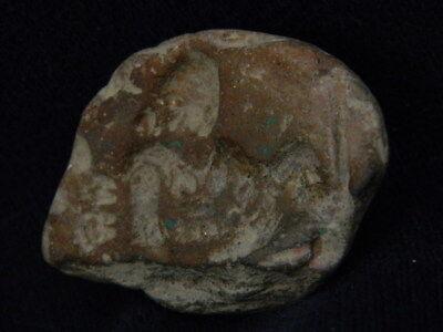 Ancient Teracotta Seal Roman C.200 BC #TR686 7