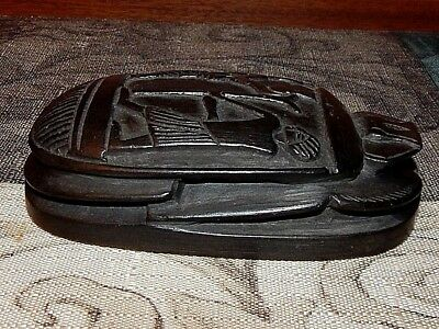 Egyptian Stone Carving. Rich with Symbolism. Mint Conditon. 5