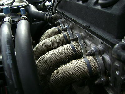 Exhaust Heat Wrap >> Exhaust Heat Wrap High Temperature Increase Car Bike