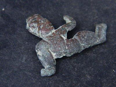 Ancient Bronze Figure Roman 200 BC No Reserve  #GL1624 5