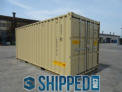 TUNNEL SHIPPING CONTAINER 20' DOUBLE DOORS SECURE STORAGE in Minneapolis, MN 2