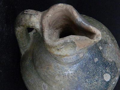 Ancient Large size Glazed Ewer Islamic 1200 AD No Reserve    #PT15167 9