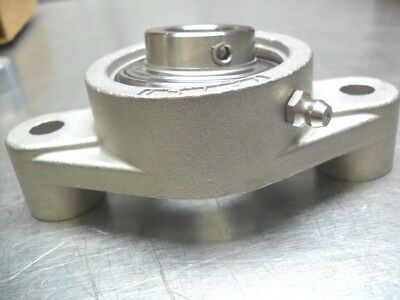 IPTCI BEARING SUCSFL 206-20  2 BOLT FLANGE  STAINLESS STEEL 1-1//4