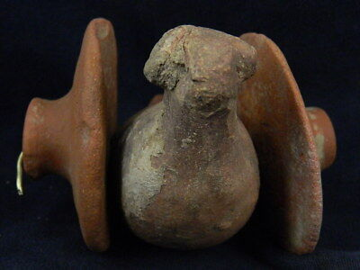 Ancient Teracotta Bird With Wheels Indus Valley 800 BC #TR8087 3