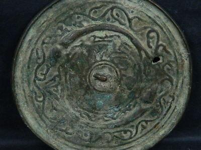 Ancient Bronze Mirror Roman 200 BC  No Reserve      #BR2002 6