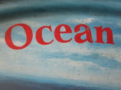 Vintage MS OCEAN ODYSSEY Plate / Plaque - 100% ORIGINAL - Made in USA (2188) 3