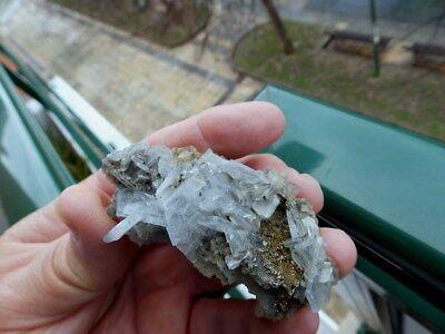 """Minerales """" Fantastico Mineral De Barita Azul De Alnif (Marruecos)  -  1B18 """" 6"""