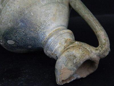 Ancient Large size Glazed Ewer Islamic 1200 AD No Reserve    #PT15167 8
