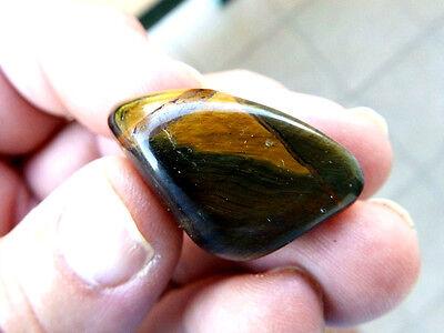 """Minerales """" Fabuloso Cristal De Quarzo Ojo De Tigre De Sudafrica  -  10A15 """" 3"""