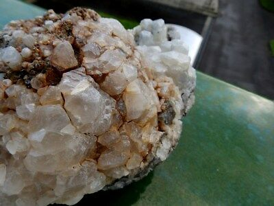 """Minerales """" Perfectos Cristales Fluorescentes De Calcita De Marruecos - 12A17 """" 8"""