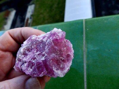 """Minerales """" Fantasticos Cristales De Cobalto Calcita De Marruecos  -  1A19 """". 8"""