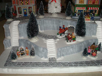 Christmas Village Display.Christmas Village Display Base Platform J30 For Lemax Dept 56 Dickens More