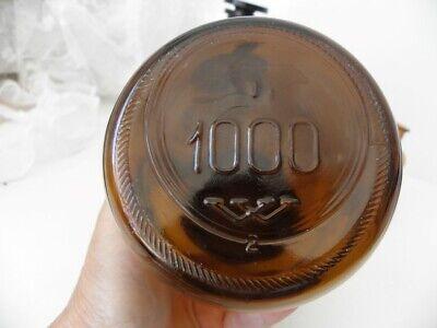 Vorratsglas Flaschen Apotheker braun & farblos 3