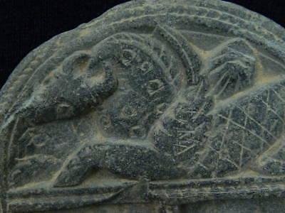 Ancient Stone Cosmatic Tray Gandhara/Gandharan 100 AD #STN834 2