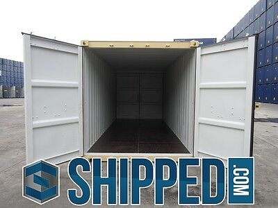 TUNNEL SHIPPING CONTAINER 20' DOUBLE DOORS SECURE STORAGE in Minneapolis, MN 8