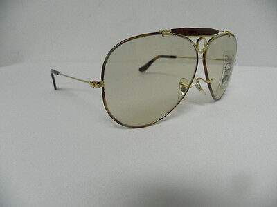 bb41a017801 3 of 6 New Vintage B L Ray Ban Shooter Tortuga L1702 Gold Changeable Brown  Aviator USA