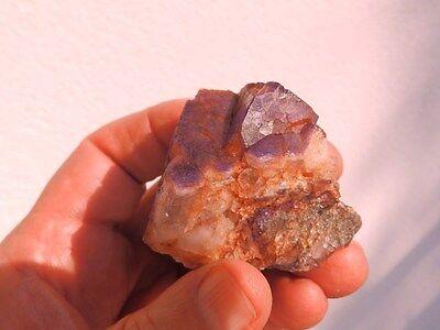 """Minerales """" Extraordinarios Cristales De Fluorita Azul De Marruecos  -  9C16 """" 4"""