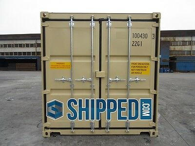 TUNNEL SHIPPING CONTAINER 20' DOUBLE DOORS SECURE STORAGE in Minneapolis, MN 4