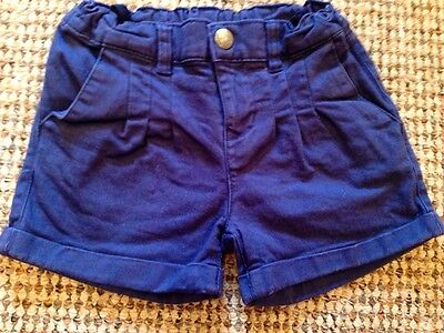Designer U2 BS Barcelona Royal Blue Multi Print Outfit Shorts And Top Age 4 2