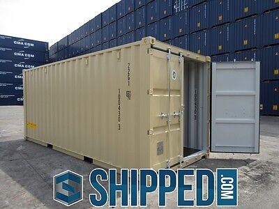 TUNNEL SHIPPING CONTAINER 20' DOUBLE DOORS SECURE STORAGE in Minneapolis, MN 3