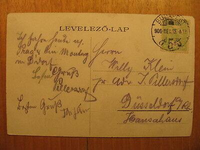 1915 AK PC Budapest Spital der Barmherzigen Irgalmasok korhaza Hungary