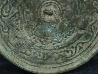 Ancient Bronze Mirror Roman 200 BC  No Reserve      #BR2002 5