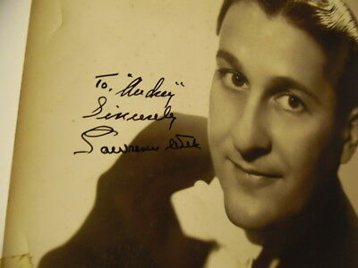 1944 LAWRENCE WELK and his Champagne Music Signed Inscribed Photo Vintage ORIG. 2