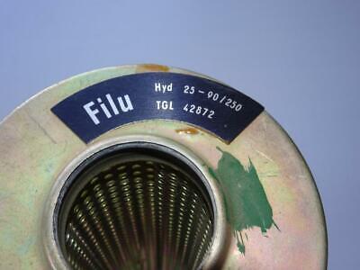 FILU Hyd 25-90//160 Hydraulik Filter Hydraulikfilter Ölfilter TGL  DDR