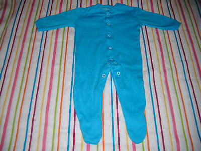 FUNKY COLOURED BABYGROW PLAYSUIT SLEEPSUIT  fancy dress/Baby showers all-in-one 12