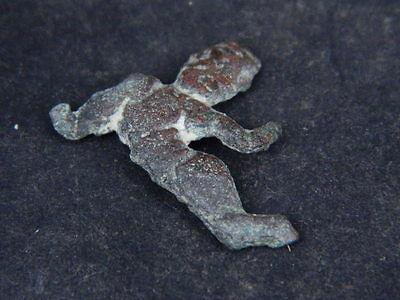 Ancient Bronze Figure Roman 200 BC No Reserve  #GL1624 6