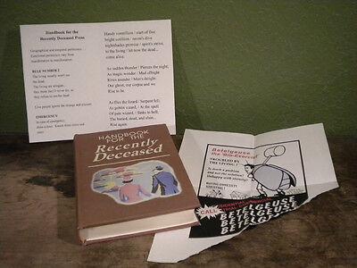Handbook for the Recently Deceased BEETLEJUICE - Movie Prop Alec Baldwin cosplay 3