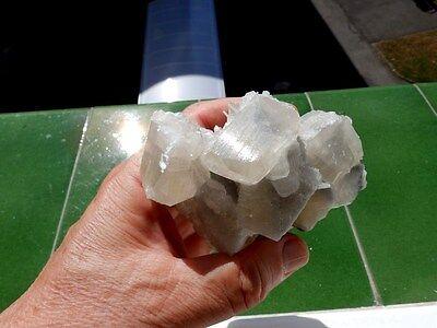 """Minerales """" Fantasticos Cristales De Calcita+Barita De Mina Moscona  -  8B17 """" 7"""
