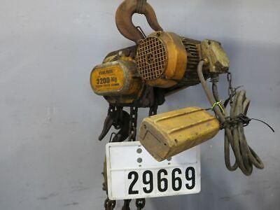 Verlinde Elektro Kettenzug Flaschenzug Kran Hallenkran 3200Kg #29669 2