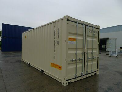 Double Door(DD) - 20' High Cube - One Trip Shipping Container in Kansas City, KS 2