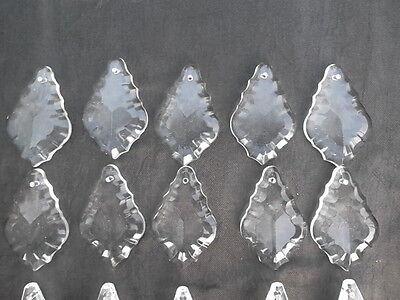 A mixture of 20 pretty glass   chandelier drops(D51224) 5