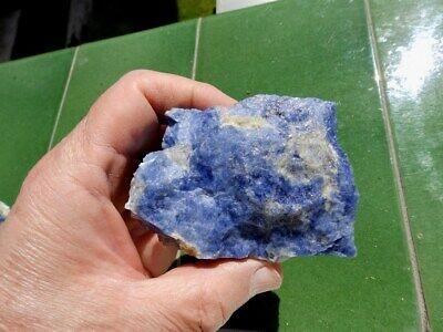 """Minerales """" Fantastico Mineral De Sodalita De Cerro Sappo Bolivia  -  3A19 """". 2"""