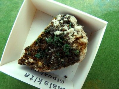 """Minerales """"  Extraordinario Mineral De Malaquita De Guipuzcua  -  10A17 """". 2"""